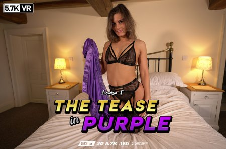 The Tease In Purple